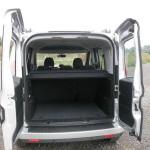 Der Gepäckraum des Opel Combo