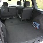 Gekippter Rückbank im Dacia Logan MCV