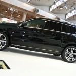 schwarzer Mercedes-Benz GL von Brabus in der Seitenansicht