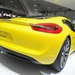 Porsche Cayman auf der Los Angeles Auto Show 2012