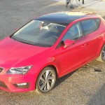Roter Seat Leon 1.2 TSI Modell 2013