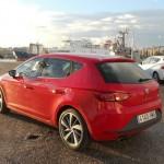 Der neue Seat Leon 2013 in der Farbe Rot