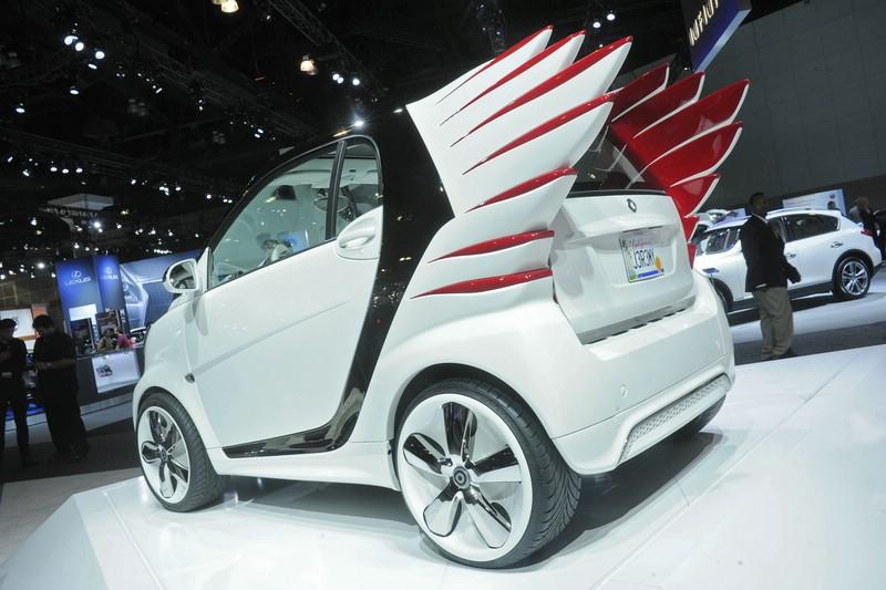 smart forjeremy auf der diesjährigen Los Angeles Auto Show