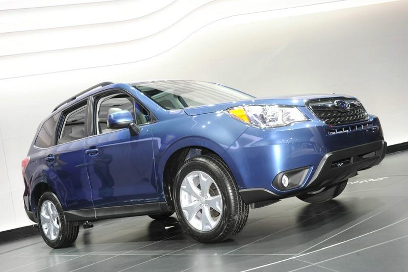 Der neue Subaru Forester auf der Messe in Los Angeles 2012