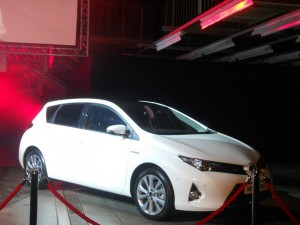 Toyota Auris in Weiß - Die neue Generation