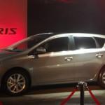 2013-er Toyota-Kompaktwagen Auris in der Seitenansicht