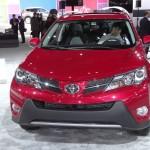 Die Frontpartie des Toyota RAV4 Modell 2013