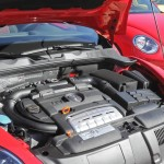 Der 2.0 TSI Motor des VW Beetle Sport