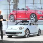 Präsentation des VW Beetle Cabrio in Los Angeles