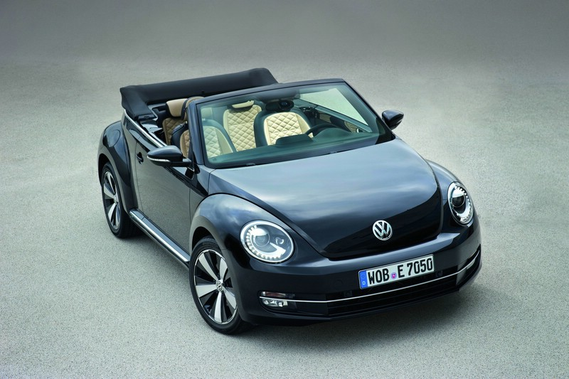 VW Beetle Cabriolet in der Ausführung Exclusive