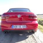 Das sportliche Heck des Volkswagen Golf GTI Cabrio