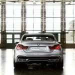 Das BMW 4er Coupe Concept in der Heckansicht