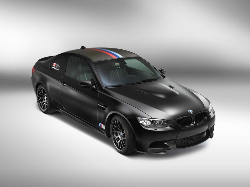 BMW M3-Sondermodell DTM Champion Edition in schwarz 2013