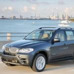 2010-er BMW X5 xDrive40d in der Frontansicht