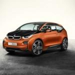 Das BMW i3 Concept Coupe in der Frontansicht