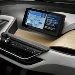 Display mit Navi im BMW i3 Concept Coupe