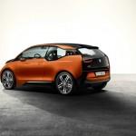 Das BMW i3 Concept Coupe in der Heckansicht