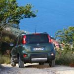 Die Heckpartie des Fiat Panda 4x4