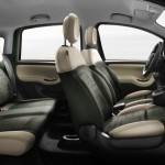 Der Innenraum des neuen Fiat Panda 4x4 (Sitze)