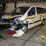Frontalcrash Fiat Scudo beim Euro NCAP