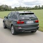 Der BMW X5 xDrive40d bei der Testfahrt
