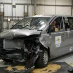 Hyundai H1 Custom nach dem Crashtest
