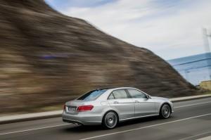 Mercedes-Benz E-Klasse Modelljahr 2013 in Silber