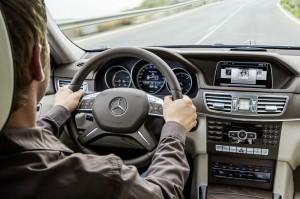 Das Cockpit des Mercedes-Benz E-Klasse E Hybrid