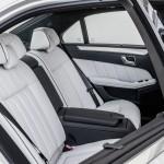 Die Fond-Ledersitze der Mercedes-Benz E-Klasse 2013