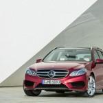 Die Frontpartie des Mercedes-Benz E-Klasse T-Modell