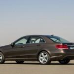 Mercedes E-Klasse E Hybrid in der Seitenansicht