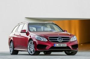 Die neue Mercedes E-Klasse als T-Modell (Kombi)