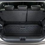 Der Gepäckraum des Nissan Note
