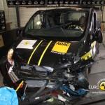 Der Renault Trafic nach dem Crash