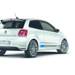 Die Heckpartie des Volkswagen Polo R WRC