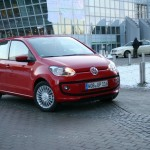 Die Frontpartie des Volkswagen Eco-Up