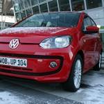 Der neue Volkswagen Eco-Up in Rot