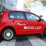Die Seitenpartie des Volkswagen Eco-Up