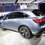 Acura MDX als Protoyp auf der Automesse in Detroit