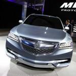 Der Kühlergrill des Acura MDX - NAIAS 2013 Bilder