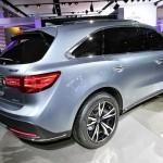 Das Exterieur des Acura MDX-Protoyp