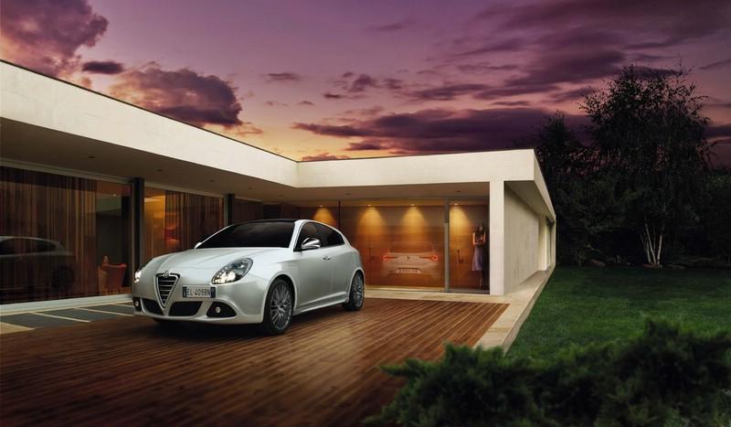 Das Alfa Romeo Giulietta Sondermodell Collezione in Weiß
