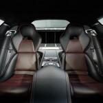 Die hinteren Einzelsitze des Aston Martin Rapid S