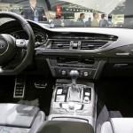 Der Innenraum des Audi RS7 - Cockpit, Mittelkonsole