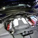 Der 354 PS Motor des Audi SQ5