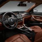 Das Interieur des BMW Concept 4er Coupe