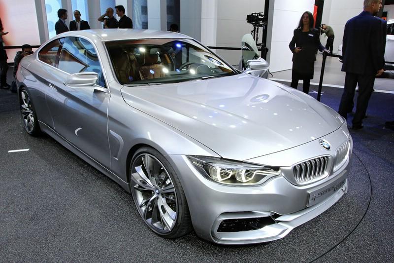 BMW Concept 4er Coupe auf der NAIAS Detroit 2013