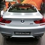 Die Heckpartie des BMW M6 Gran Coupé