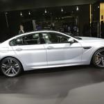 Die Seitenpartie des BMW M6 Gran Coupé