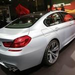 BMW M6 Gran Coupé in Silber auf der Detroit Autoshow 2013